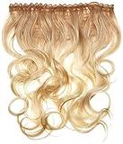 Balmain Clip-in Complete Extension Memory Hair Amsterdam 40 cm, 1er Pack (1 x 1 Stück)