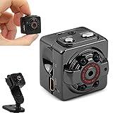 HD 1080P Mini telecamera spia da interno/esterno - Mini telecamera nascosta PC portatile con registrazione voce/video e visione notturna a infrarossi immagine
