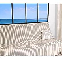 soleil docre jet de canap 170x250 cm cotonade cru polyester coton - Jete De Canape