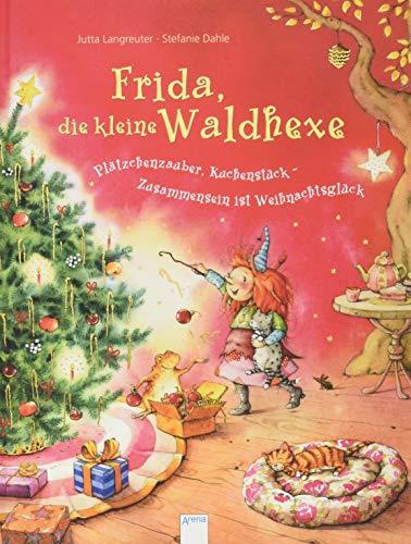 Frida, die kleine Waldhexe - Pätzchenzauber, Kuchenstück - Zusammensein ist Weihnachtsglück