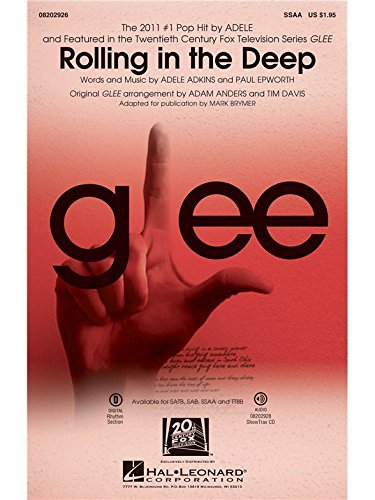 Rolling in the Deep - SSA - CHORAL SCORE