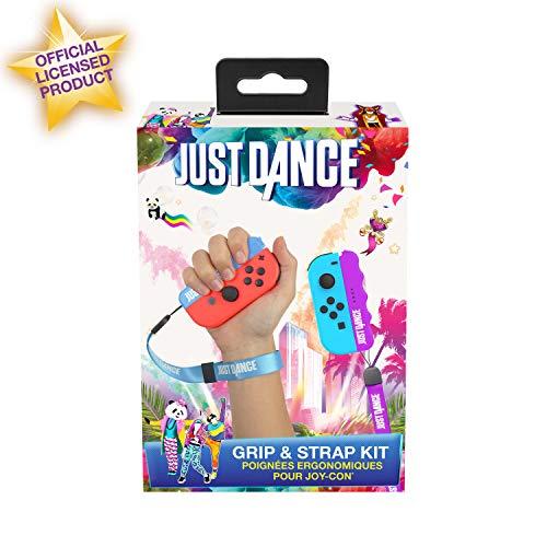 Subsonic Maniglie Ergonomiche con Cinturino Blu e Viola Nintendo Switch