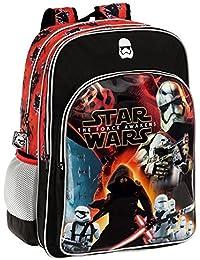 Disney 2592451 Star Wars Battle Mochila Escolar, 27.72 Litros, Color Negro