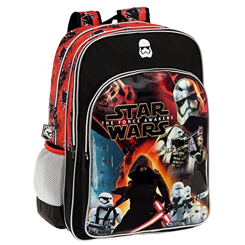Imagen de disney 2592451 star wars battle  escolar, 27.72 litros, color negro