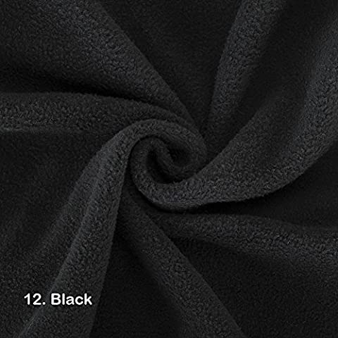 Polar Fleece Fabric, Quality Material, International Approved Test Report for Anti Pill Finish. 21 Fashion Colours, Medium 320Grams weight. Beautiful Plush Pile for garments, home décor and crafts.