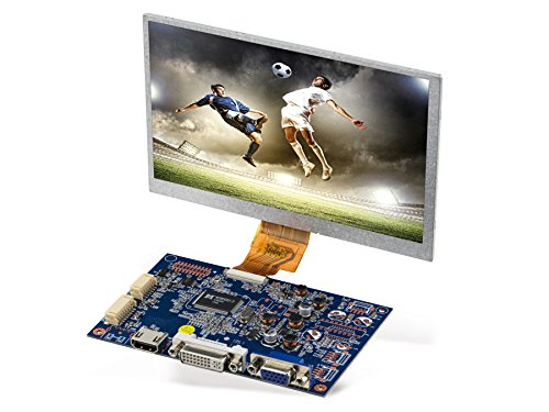 7' (17,78 cm) Display-Set LS-7, HDMI/DVI/VGA/CVBS