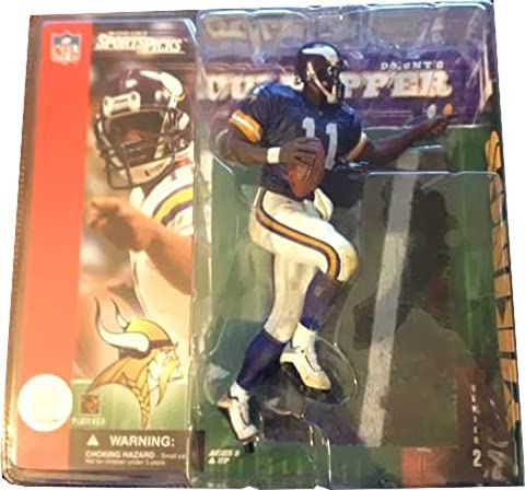 McFarlane Toys NFL Sports Picks Series 2 Action Figure Daunte Culpepper (Minnesota Vikings) Purple Jersey Variant by Unknown by Unknown