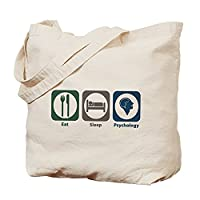 CafePress - Eat Sleep Psychology - Natural Canvas Tote Bag, Cloth Shopping Bag