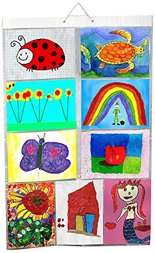 picture-pockets-kids-art-size-a4-hanging-photo-gallery-18-drawings-photos-in-9-pockets-reversible-fl