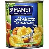 SAINT MAMET Abricots Pelés au Sirop Léger - Lot de 3