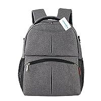 Unisex Baby Changing Backpack Large Mummy Nursing Nappy Bag Laptop Bag+Diaper Pad+Diaper Bag+Stroller Hook Hanger