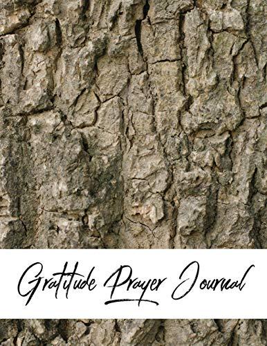 Gratitude Prayer Journal: Wood Skin Design Prayer Journal Book With  Calendar 2018-2019 : Simple guide to journaling , uplifting prayer , Bible