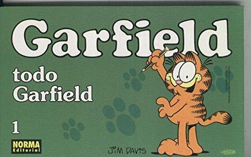 Garfield de Jim Davis numero 01: Todo Garfield