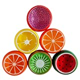 #3: Clastik 6 Colors/Pack Kids Magic Slime Toys Dust Cleaning Glue Slimy Gel for Keyboard Laptop Car Clear Fruit