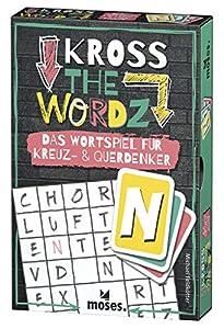 Moses. 90317Kross The wordz | la Palabra Parte Horizontal y en Cruz para los pensadores | Familia Parte a Partir de 10años, Multicolor