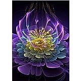 BaZhaHei 5D Diamant Malerei Stickerei Gemälde Strass eingefügt DIY Kreuzstich Stickerei Vollbohrer Home Schneemann Blume Diamant Malerei