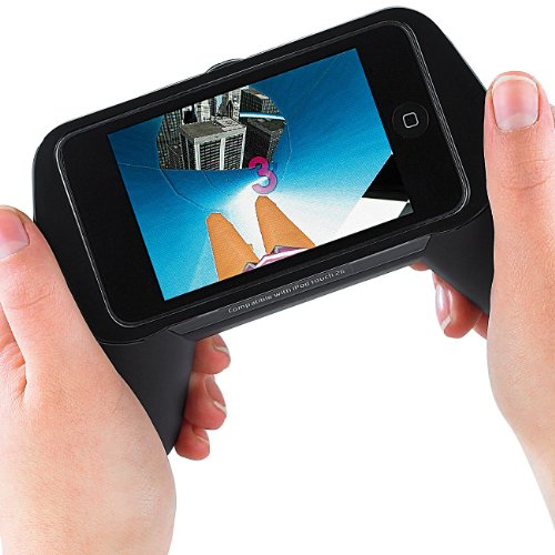Callstel Telefonhörer iPhone: Game-Grip für iPhone 3G, 3Gs und iPod touch 2G, 3G (Ladestation für iPhone mit Hörer)