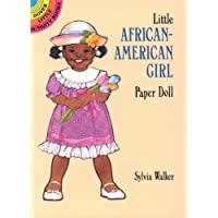 Little African-American Girl Paper Doll (Dover Little