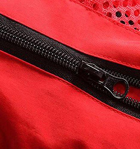 Herren Sportlich Schnell Trocknende Mesh-taktische Weste Multitasche Anglerweste Jacke Fotografie Brown