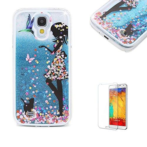 Für Samsung Galaxy S4 Hülle,Für Samsung Galaxy S4 Flüssigkeit Handyhülle,Funyye Luxus Luxuriös...