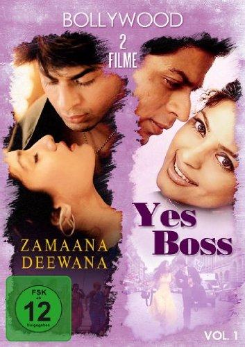 Bild von Bollywood - 2 Filme Vol. 1 (Yes Boss & Zamaana Deewana - Die Liebenden)
