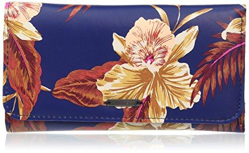 Roxy My Long Eyes Portamonete, 16 cm, Castaway Floral Blue Print