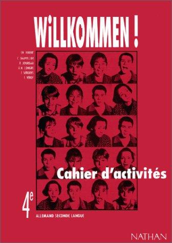 Willkommen 4e LV2 : cahier d'activités