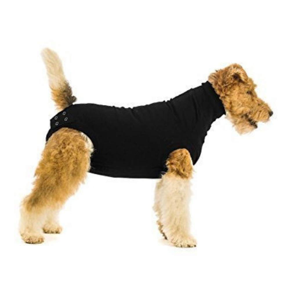 Suitical Recovery Dog Suit, Medium, Black