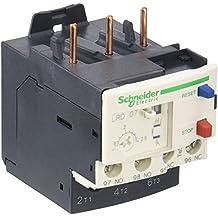 Schneider Electric LRD07 LRD Relés de Protección Térmicos Diferencial Sobrecarga, Clase 10A, 690VAC, 0-400Hz, 1.6-2.5Amps