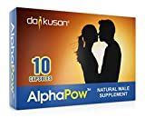 AlphaPow (ORIGINALE Capsule Trasparenti) Integratore Energetico Maschile Naturale