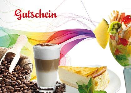 Gutscheine für Eis, Kaffee & Kuchen - 100 St. DINA 6