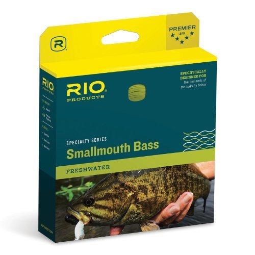 Rio smallmouth Bass Fly Line WF7F Bronze/Beige by Rio Brands