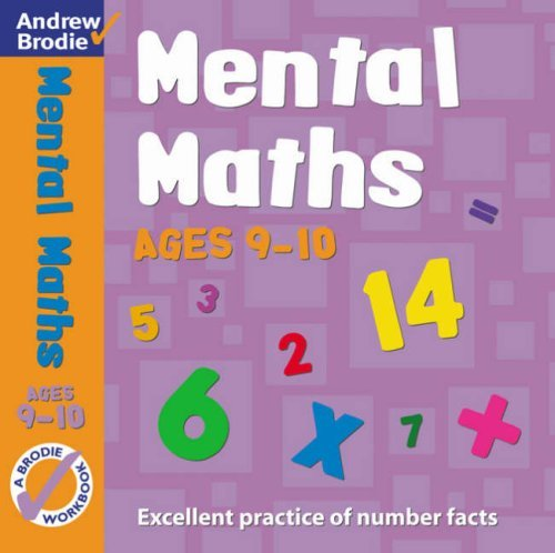 Portada del libro Mental Maths: For Ages 9-10 (Mental Maths) by Andrew Brodie (25-May-2005) Paperback