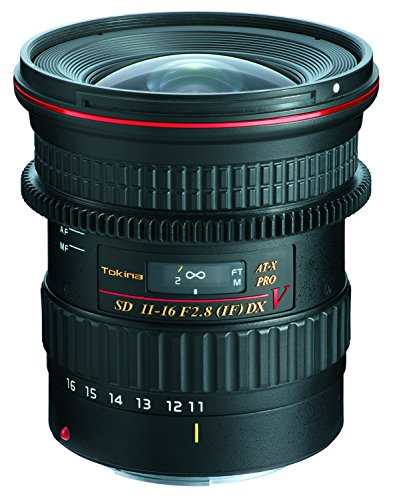 Tokina at-x 11-16mm f2.8Pro DX V Objectif pour Appareil Photo Nikon