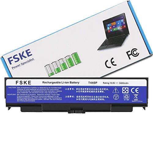 FSKE® Battery for Lenovo ThinkPad T440P W540 T540P L440 W541 L540 Series  Notebook, 6-Cell 10 8V 5000mAh