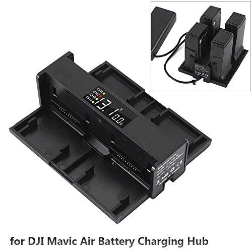 Multi Display Chargeur de batterie Hub de Convertisseur pour DJI Mavic Air Drone RC