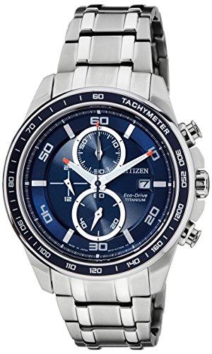 Citizen Eco-Drive Analog Blue Dial Men's Watch - CA0346-59L image