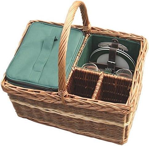 rosso Hamper WH013G Home Family cestino da picnic, Marroneee, 30 30 30 x 45 x 24 cm | A Primo Posto Tra Prodotti Simili  | Consegna veloce  47439e
