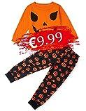 TUONROAD Pijamas de Vacaciones para niños Pijamas de Halloween Ropa para bebés...