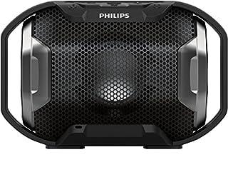 Philips Shoqbox SB300B Enceinte Bluetooth Portable sans Fil avec LED, Etanche, Résistante aux Chocs, 8h d'Autonomie, 4W, Noir (B01IJZQXT4) | Amazon price tracker / tracking, Amazon price history charts, Amazon price watches, Amazon price drop alerts