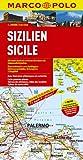 MARCO POLO Karten 1:200.000: MARCO POLO Karte Sizilien 1:200.000