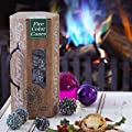 Northern Lights Colour Changing Fir Cones - For Real Open Fires Wood Burners from lakeland