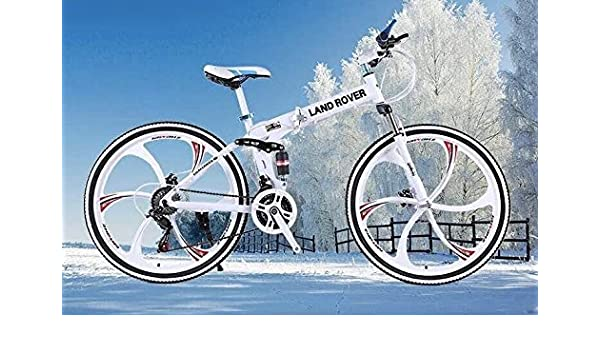 Mankani Aluminum Bicycle With Foldable Feature And 21 Shimano Gears