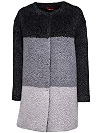 MaxMara 8016X Cappotto Donna Studio Alpaca Wool Grey Coat Woman