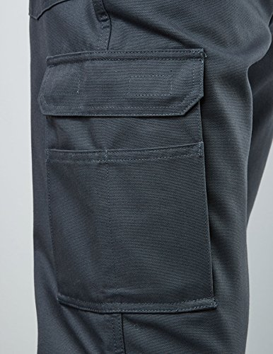 Pionier 2234-26 Thermohose Canvas, Marineblau, Size 26 Grau