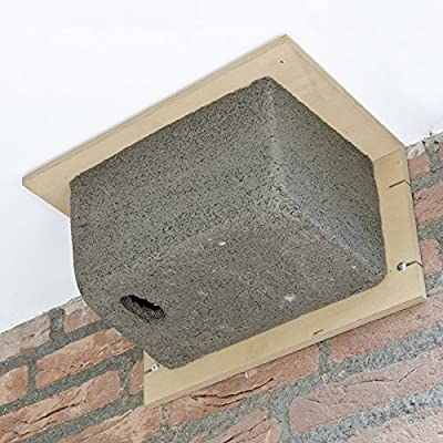 CJ Wildlife Woodstone Swift Bird Box and Nester from CJ Wildlife
