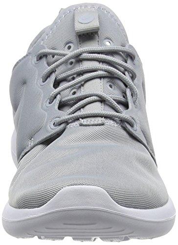 wolf Damen Grau Roshe Grey Two Grey wolf Schwarz grey Sneakers white Nike 0fqdxHBH