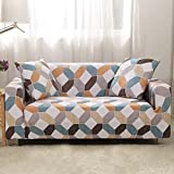 FORCHEER Sofabezug elastische Sofahusse Sesselbezug Stretchhusse Sofaüberwurf Couch Husse mit 4 verschienden Größe (3-Sitzer, Pattern #SCJH)