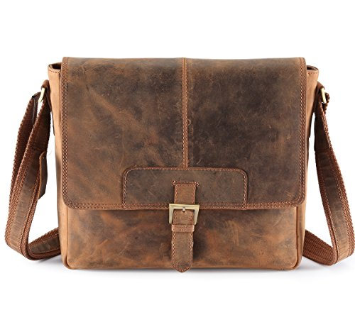 Hydestyle Venator Distressed Hunter Messenger   Cross Body Manbag – Medium eda234c23c1ad