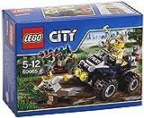 LEGO City 60065 - Auf Streife im Sumpfpolizei-Quad